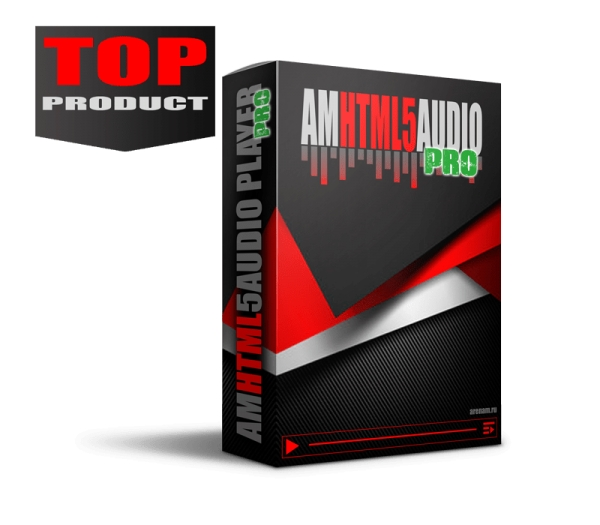 AMHTML5AUDIO PRO - Mp3 audio player